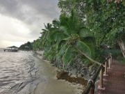 Strandbreich des Coco De Mer Hotels