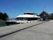 Transferboot nach Praslin